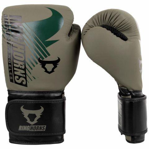 Guantes de boxeo Ringhorns Charger MX - Kaki/Negro