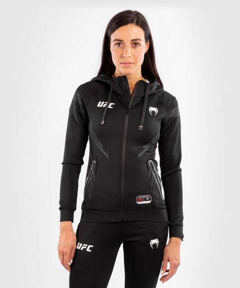 Sudadera Para Mujer UFC Venum Authentic Fight Night Walkout - Negro