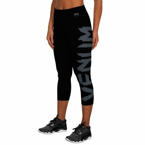 Venum Giant Cropped Leggings - Black/Grey