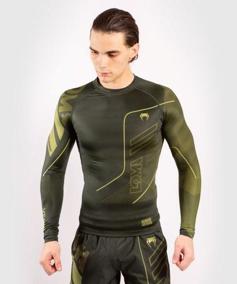 Camiseta de compresión mangas largas Venum Loma Commando - Kaki