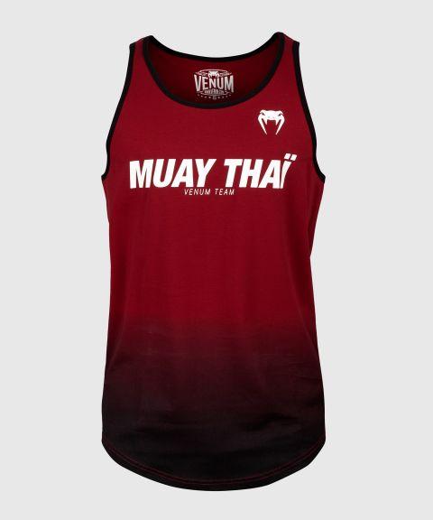 Venum Muay Thai VT Tanktop - Wijnrood/Zwart