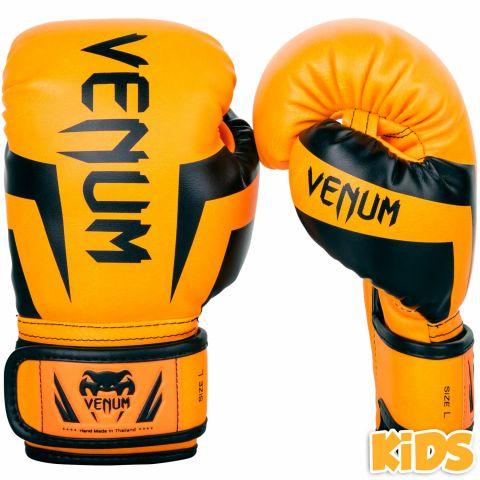 Venum Elite Handschuhe Kids - Exklusiv - Neonorange