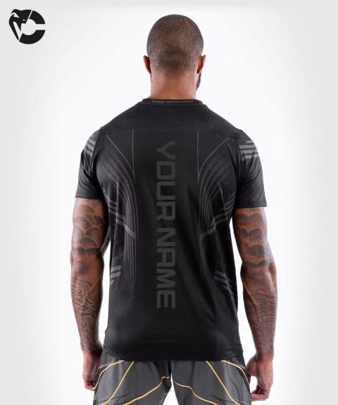 Camiseta Técnica Para Hombre Personalizada UFC Venum Authentic Fight Night - Negro