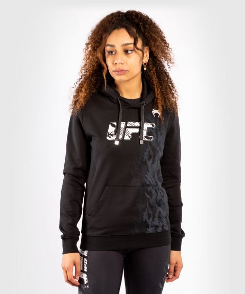 Sudadera Para Mujer UFC Venum Authentic Fight Week - Negro
