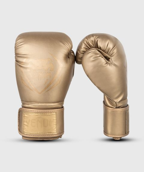 Venum Contender Boxing Gloves - Gold/Gold