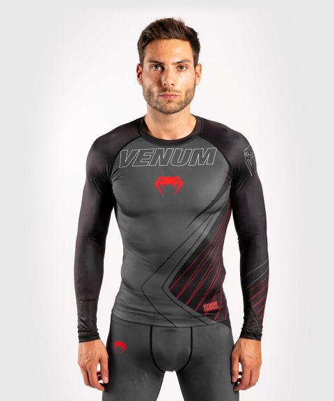 Venum Contender 5.0 Rashguard - Long sleeves - Black/Red