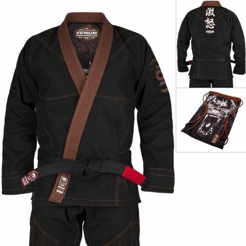 Kimono de BJJ Venum Absolute Gorilla  - Negro/Marrón