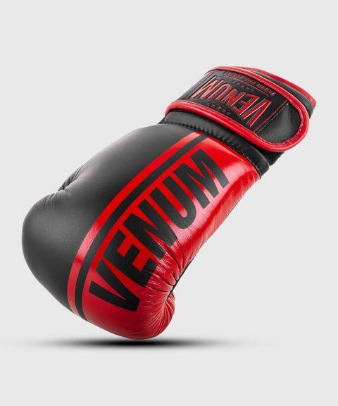 Guantoni da boxe professionali Venum Shield – Velcro - Nero/Rosso