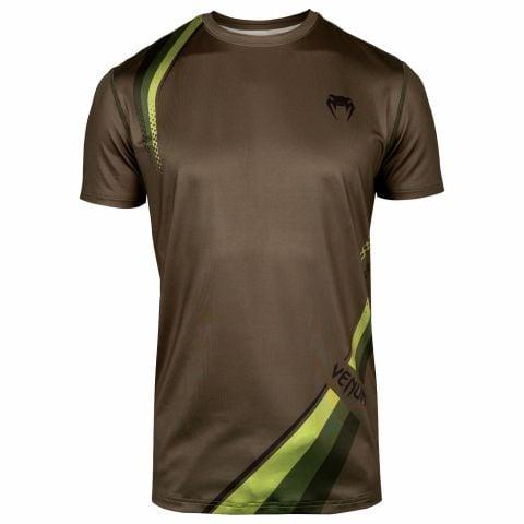Venum Cutback 2.0 Dry Tech T-shirt - Kaki/Zwart