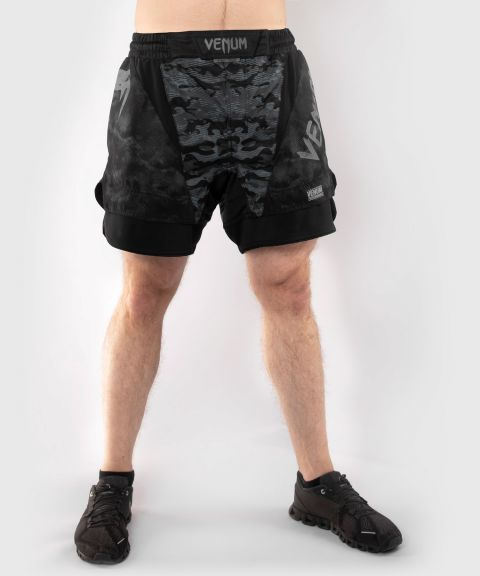 Venum Defender Fightshort  - Dark camo