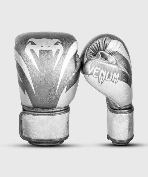Venum Impact Boxhandschuhe - Silber/Silber