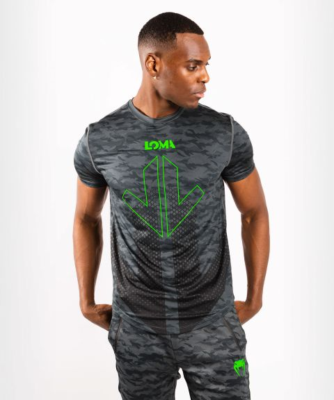 Venum Arrow Loma Signature Collection Dry tech t-shirt - Dark Camo