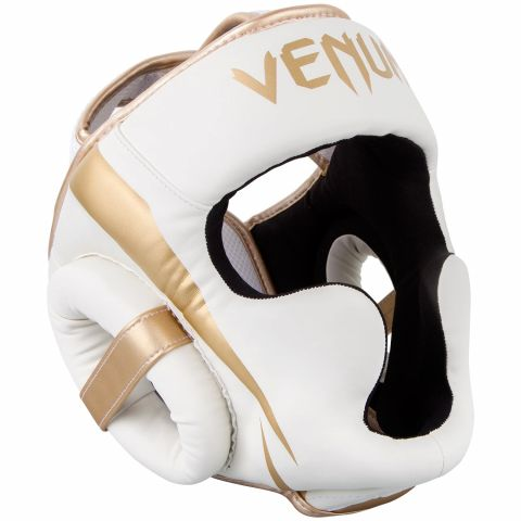 Casco Venum Elite - Blanco/Oro