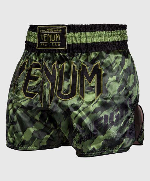 Pantalones Cortos de Muay Thai Venum Tecmo - Caqui