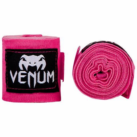 Fasce da boxe Venum Kontact - 4 m - Rosa neo