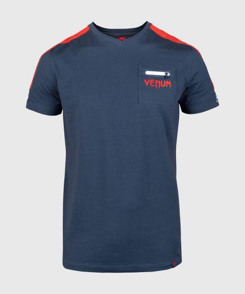 Venum Cargo T-shirt - Dark blue/Raspberry-White