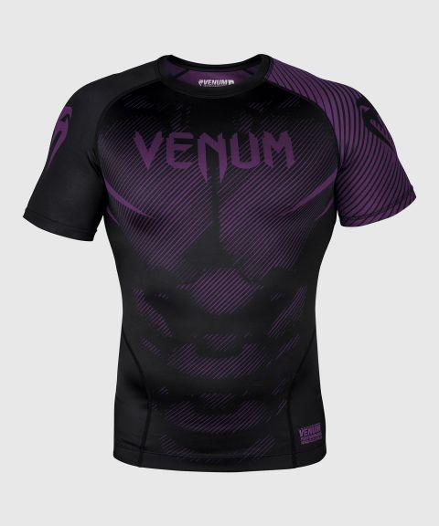 Venum NoGi 2.0 Rashguard - korte mouwen - zwart/paars