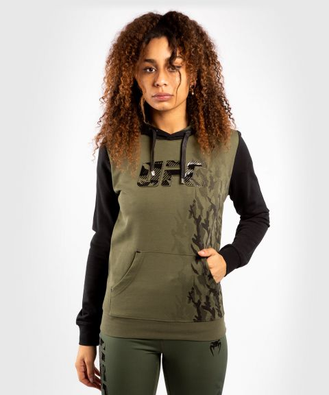 Sudadera Para Mujer UFC Venum Authentic Fight Week - Caqui