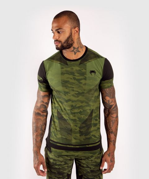Camiseta Venum Trooper - Camo Bosque/Negro