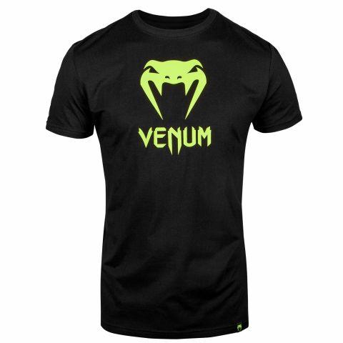 T-shirt Venum Classic - Noir/Jaune Fluo