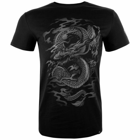 Camiseta Venum Dragon's Flight - Negro/Negro