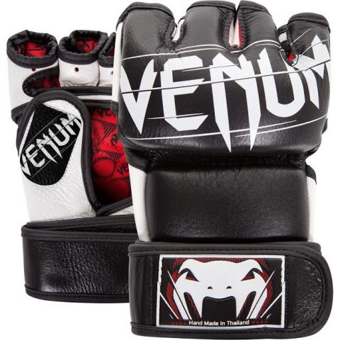 Venum Undisputed 2.0 MMA Gloves - Nappa Leather - Black