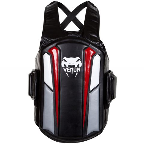 "Plastron de protection Venum ""Elite"" - Noir/Blanc/Rouge"