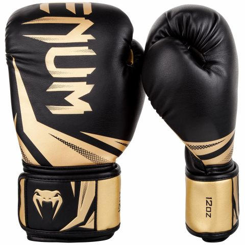 Venum Challenger 3.0 Boxing Gloves - Black/Gold