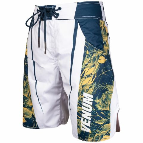 Venum Aero 2.0 Boardshorts - White/Floral Yellow-Blue