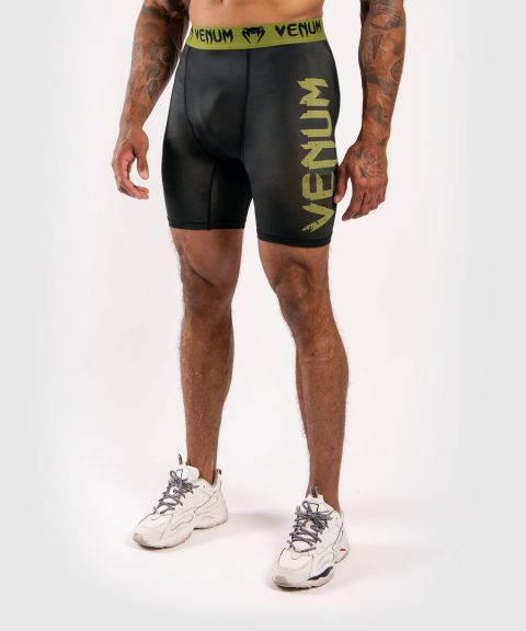 Venum Boxing Lab Compression shorts - Black/Green