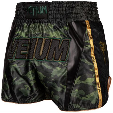 Short de Muay Thai Venum Full Cam - Forest Camo/Noir