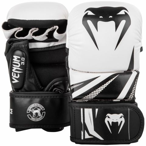 Sparring Gloves Venum Challenger 3.0 - White/Black