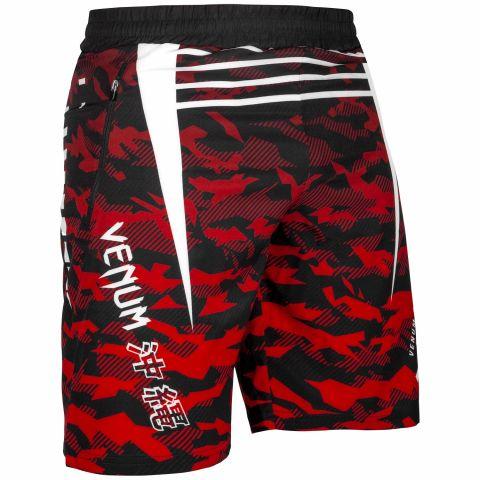 Venum Okinawa 2.0 Trainingsshort - Zwart/Wit-Rood