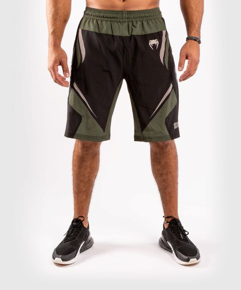 Pantalones cortos de Fitness ONE FC Impact - Negro/Caqui