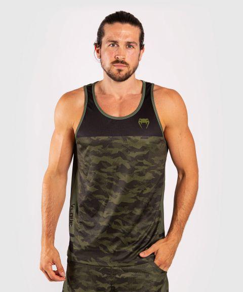 Camiseta sin mangas Venum Trooper - Camo/Negro
