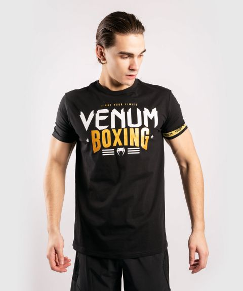 Venum BOXING Classic 20 T-Shirt - Black/Gold