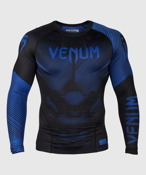 Venum NoGi 2.0 Rashguard - lange mouwen - zwart/blauw