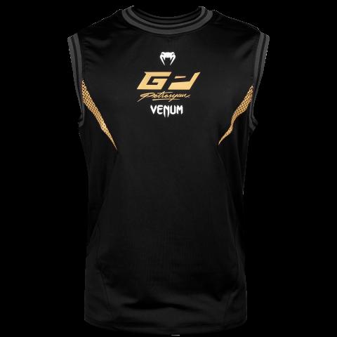 Camiseta sin mangas Dry Tech Venum Petrosyan - Negra/Oro