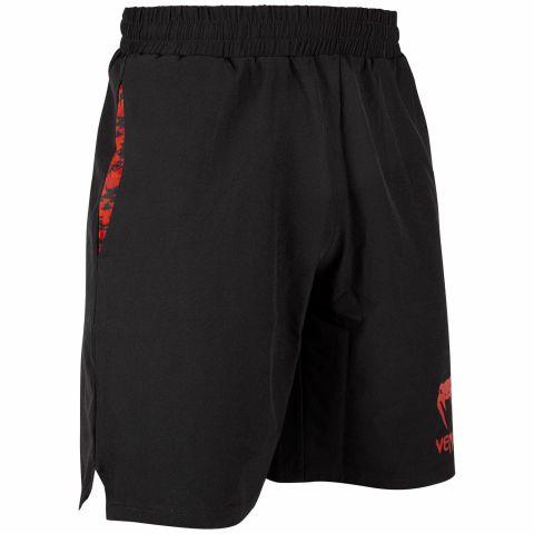 Short de sport Venum Classic - Noir/Rouge