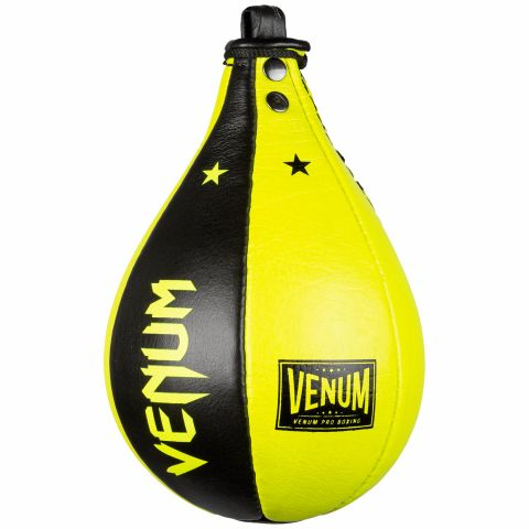 Boxbirne Venum Hurricane Speed Bag - Schwarz/Gelb