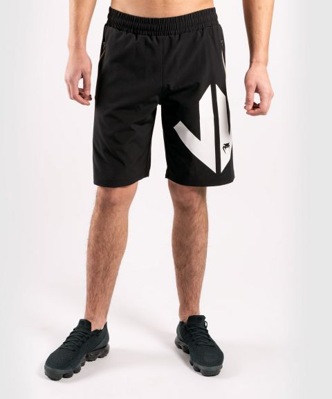 Pantalones cortos deportivos Venum Arrow Loma Signature Collection - Negro/Blanco