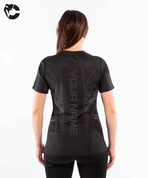 Camiseta Técnica Para Mujer Personalizada UFC Venum Authentic Fight Night - Negro