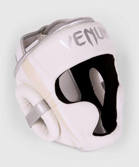 Venum Elite Kopfschutz - Weiß/Silber-Rosa