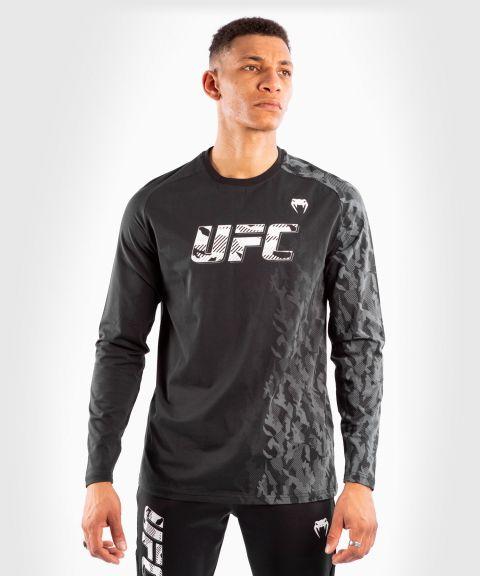 UFC Venum Authentic Fight Week T-shirt met lange mouwen voor heren - Zwart