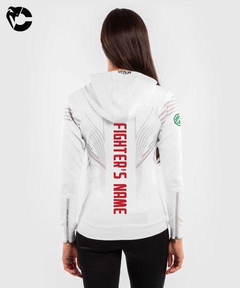 Sweatshirt à Capuche Femme Fighters UFC Venum Authentic Fight Night - Blanc