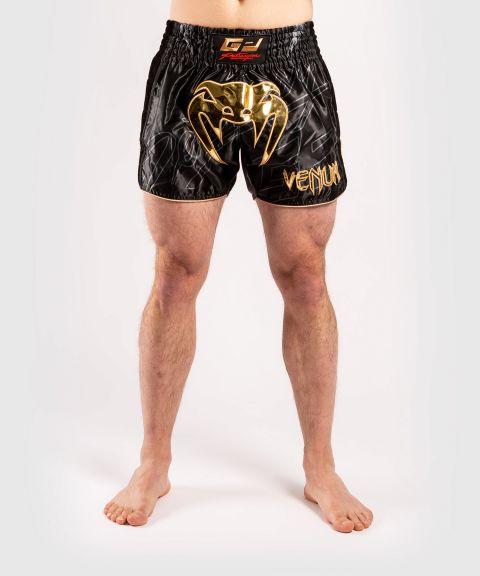 Pantalón corto de muay thaï Petrosyan 2.0 - Negro/Oro