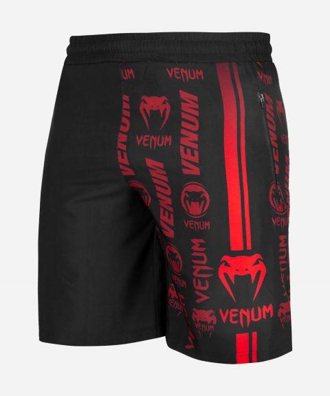 Pantaloncini Palestra Venum Logos - Nero/Rosso