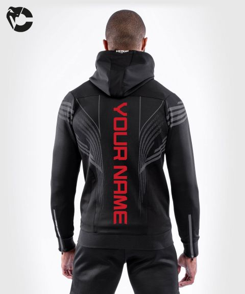 UFC Venum Personalized Authentic Fight Night Men's Walkout Hoodie - Black