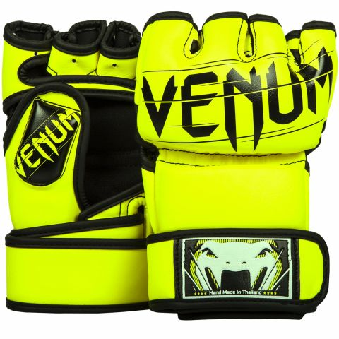 Venum Undisputed 2.0 MMA Gloves - Skintex Leather - Neo Yellow