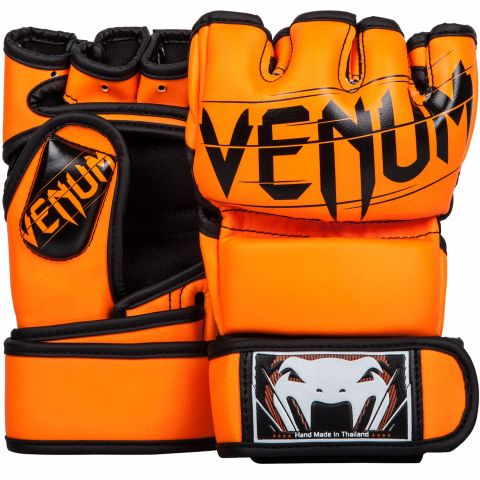 Venum Undisputed 2.0 MMA Gloves - Skintex Leather - Neo Orange